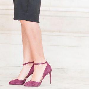 Michael Kors Georgia Ankle Strap High Heel Pumps
